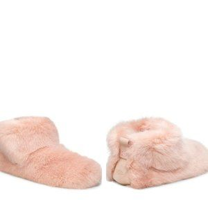 NEW! UGG Amary Faux Fur Slipper Bootie (9)